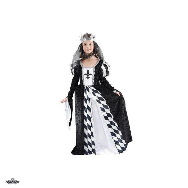 Dronning kostume